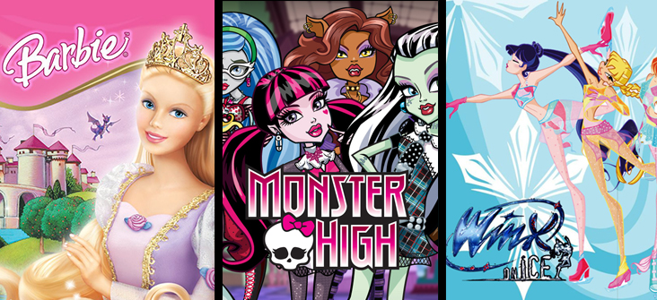 Barbie Monster High Winx